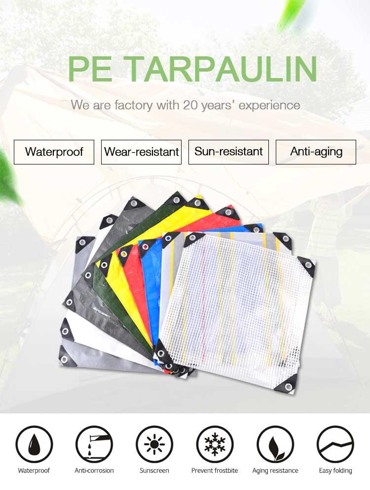 PE Tarpaulin Roll
