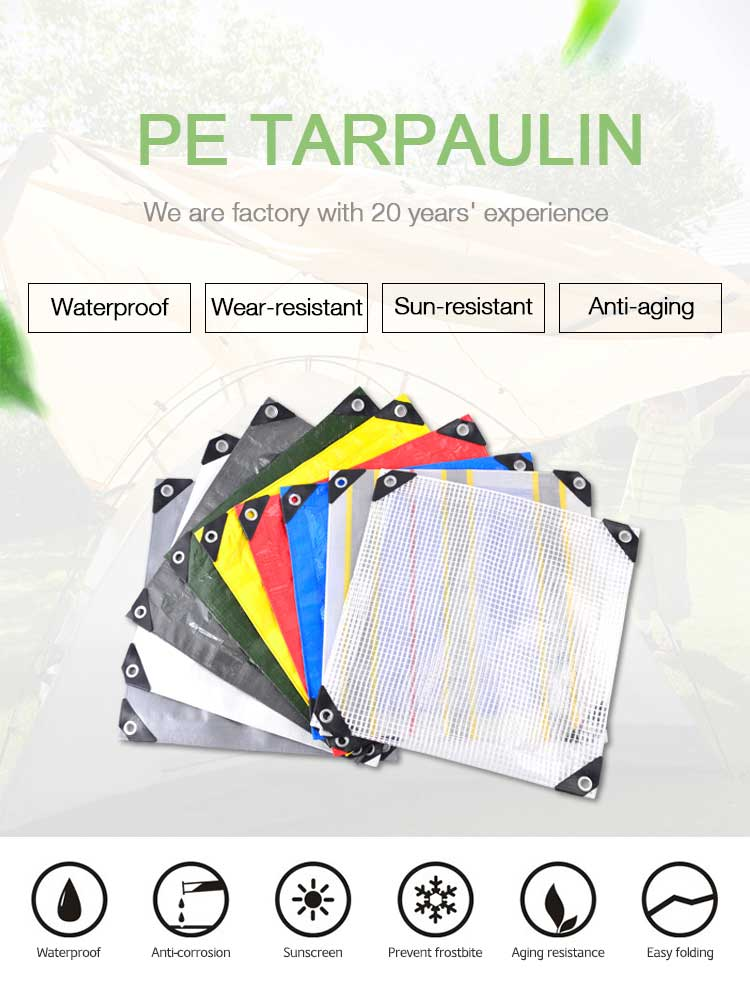 Transparent Woven Leno Tarp